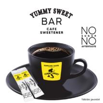 Yummy Sweet Bar Cafe kávéédesítő édesítőszer (5 g cukor kiváltására) 250 db-os dobozban