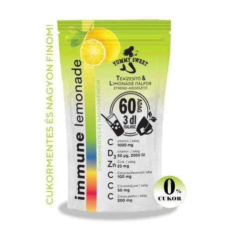 Immune Lemonade (60 adagos) limonádé italpor- étrend-kiegészítő